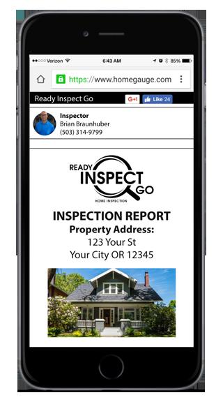 Home Gauge Digital Report