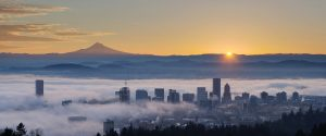 Portland Skyline - Home Inspection Coverage Area